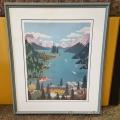 "Linda Evans Wall Art ""Maligne Lake Spirit Island Jasper"""