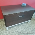 Espresso Single Drawer Lateral File Cabinet