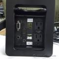 Extron Black HSA & Cable Cubby 300 Management Grommet HDMI