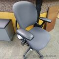 Steelcase Leap Charcoal Adjustable Task Chair w/ Arms B Grade