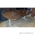 "Maple Tapered Work / Meeting / Break Room Table 72"" x 30-40"""