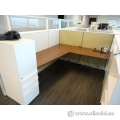 Contemporary White Knoll Equity Systems Furniture Desks Cubicles