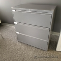 Evolve Grey 3 Drawer Lateral File Cabinet, Locking