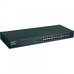 Trendnet Unmanaged Switch, 24 port 10/100 TE100-S24 - New