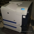 HP CP3525DN Color LaserJet Printer w/ Extra Paper Tray