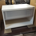 White Ikea Shelf Storage Cabinet w/ Single Drawer for Items