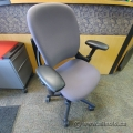 Steelcase Leap Mauve Adjustable Ergonomic Task Chair w Arms