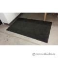 """Commercial Indoor Rubber Coated Grey Entrance Floor Mat 42"""" Wide"""