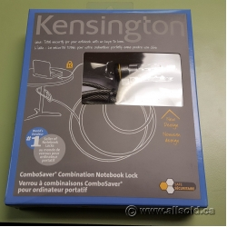 Kensington Security Notebook Cable Lock w/ Combination Lock