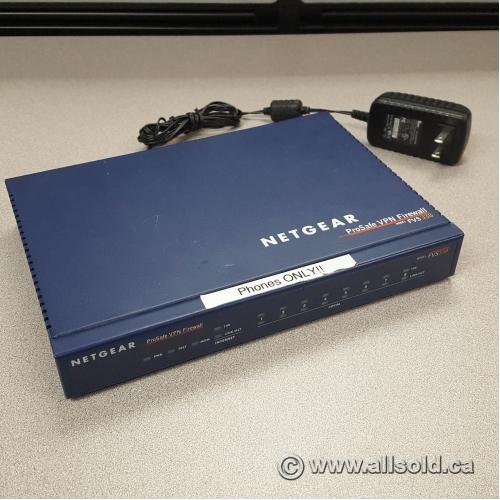Netgear ProSAFE VPN FVS338 Firewall 50 with 8-Port 10/100