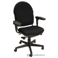 Black Fabric Steelcase Turnstone Office Chair