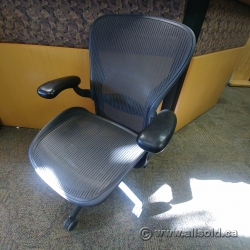 "Herman Miller Aeron ""C Size"" All Mesh Ergonomic Task Chair"