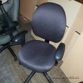 Obusforme Pattern Task Chair Dark Wine