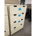 Smed Beige 4 Drawer Lateral Filing Cabinet