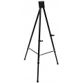 "Black Heavy-Duty Instant Tripod ""A"" Frame Easel Steel Tube Stand"
