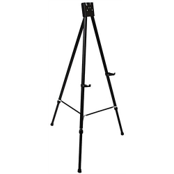 """Black Heavy-Duty Instant Tripod """"A"""" Frame Easel Steel Tube Stand"""