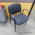Black Stacking Guest Chair