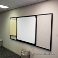 Black 2 Door Enclosed Egan Whiteboard