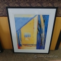 """Tony Saladino Framed Wall Art """"Fall Trees"""""""