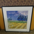 "Claudio Rabino Framed Wall Art ""Campo In Estate"""