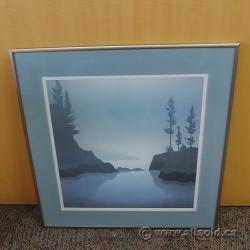 "Framed Wall Art ""Island Mist"""