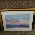 "John Maxon Framed Wall Art ""High Land"""