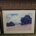 "Charles Berry Framed Wall Art ""Peaceful Pastures"""