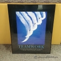"Framed Motivational Wall Art ""Teamwork"""
