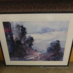 "Ted Goerschner Framed Wall Art ""Santa Ynez Valley Morning"""