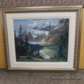 "Fred Buchwitz Framed Wall Art Painting ""Jasper National Park"""