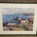 "Ming Feng Framed Wall Art ""View To The Bay"""