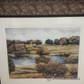 "Jillian Truair Framed Wall Art ""At The Pond II"""