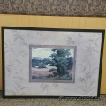 "Vivien Rhyan Framed Wall Art ""Country Walk"""