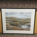 "Jillian Truair Framed Wall Art ""At The Pond I"""