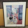 """Soledat Sans Framed Wall Art """"Porta Oberta Al Mar"""""""