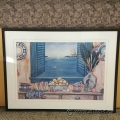 "Sarina Framed Wall Art ""Still Life With Birds Of Paradise"""