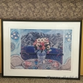 "Sarina Framed Wall Art ""Breakfast Over Positano"""
