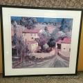 "Philip Craig Framed Wall Art ""La Femme En Provence"""