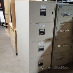 Fire Proof 4 Drawer Vertical File Cabinet