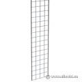 "Chrome Gridwall 60""h x 12""w"