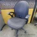 Haworth Checkerboard Pattern Office Task Chair