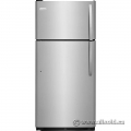 Stainless Steel Frigidaire 18cu. Fridge with Top Load Freezer