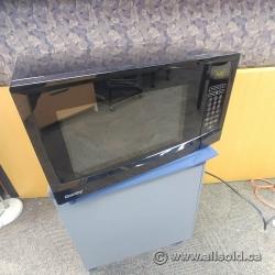 Black Danby 1.1 cu. ft. Microwave