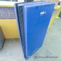 """Blue Teamline Gymnastics Mat Crash Pad 4x8'x2"""""""