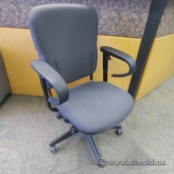 Grey Steelcase Turnstone Mid Back Office Task Chair