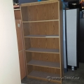 "Brown Wood 4 Shelf 72"" Tall Bookcase"