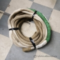 "White Nylon Kinetic Recovery Tow Rope 1"" x 30' 30000 lbs"
