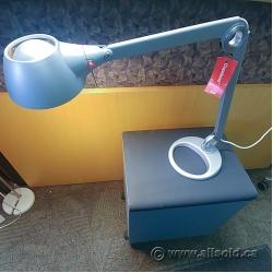 Silver Knoll Copeland Task Desk Lamp w/ Swivel Table Base
