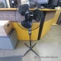 Black 3 Speed Oscillating Floor Fan
