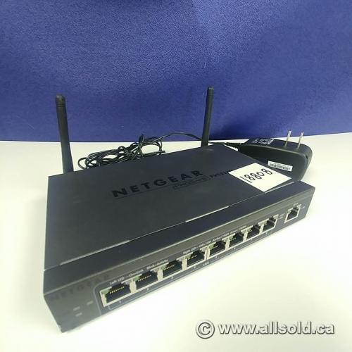 NETGEAR ProSAFE FVS318N 8-Port Wireless-N VPN Firewall with